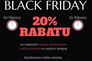 24 października – BLACK FRIDAY